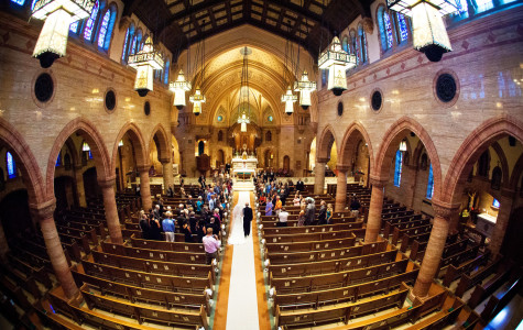 Wedding Photography at Holy Ghost Catholic Church