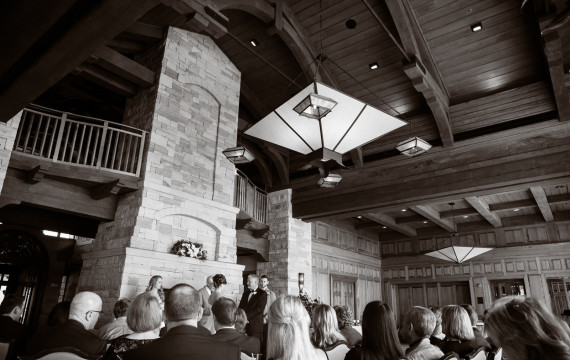 Dan and Kim's Sanctuary Golf Club Wedding