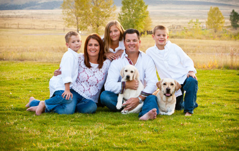 Fun family portraits in Littleton