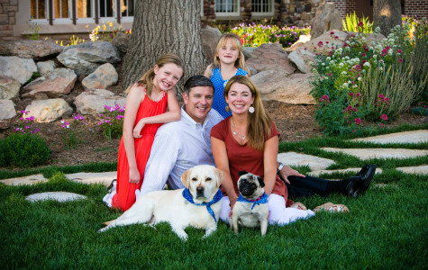 Family portraits in Littleton